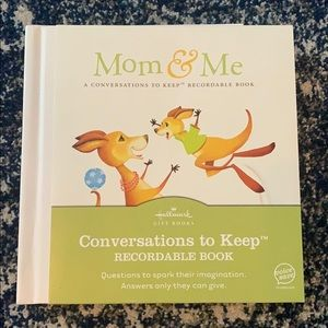 Mom & Me Conversations to Keep Recordable Book